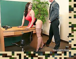big boobs sex teacher